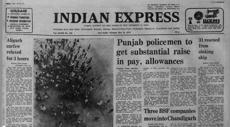 Forty years ago, May 15, 1979: Aligarh simmers