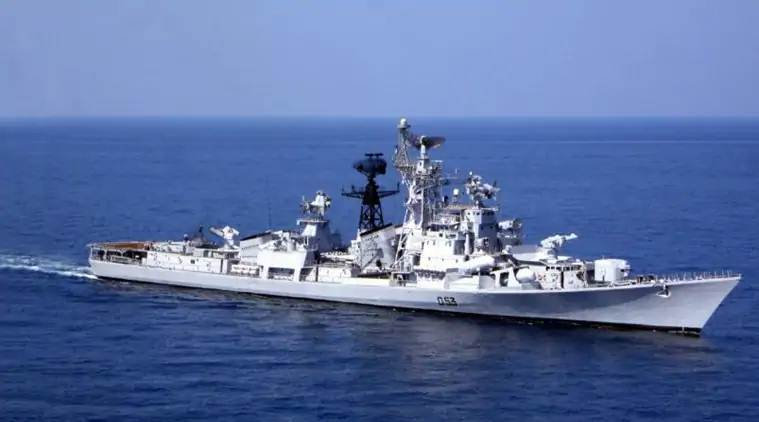 Indian warships take part in international maritime defence exhibition in Singapore