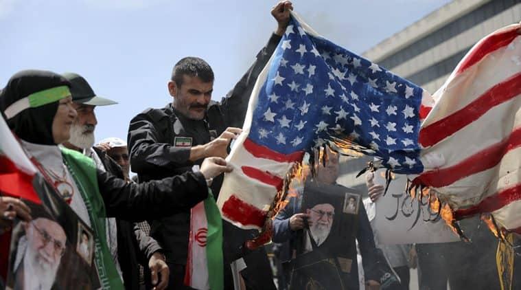 Iran, Iran US conflict, Israel, Iran attack Israel, Iran nuclear deal, Hassan Rouhani, Ayatollah Khomeni, World news, Indian Express