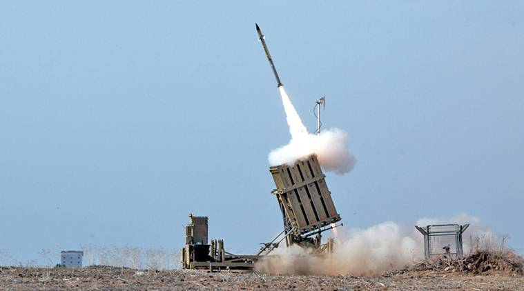 What is Iron Dome anti-missile system?