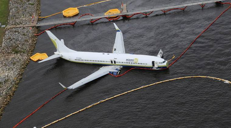 Boeing 737 slides off runway into Florida river: Passengers recount plane landing that felt 'like an explosion'