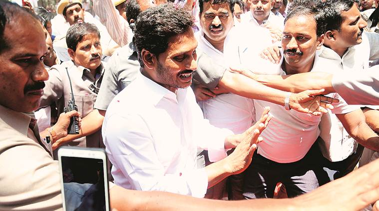 Jagan mohan reddy, jagan mohan reddy meets modi, andhra pradesh special category status, Jagan mohan reddy special category status, andhra pradesh assembly elections, indian express, india news, latest news