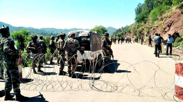 Image result for JAMMU POONCH HIGHWAY IED