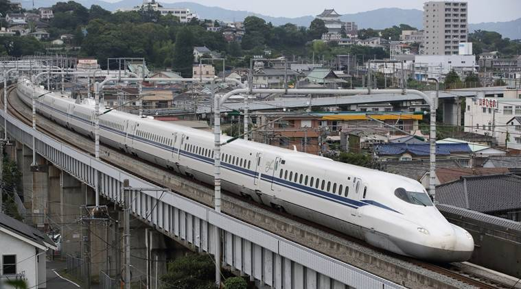 Japan's new bullet train model 'Supreme' hits record speed in test run