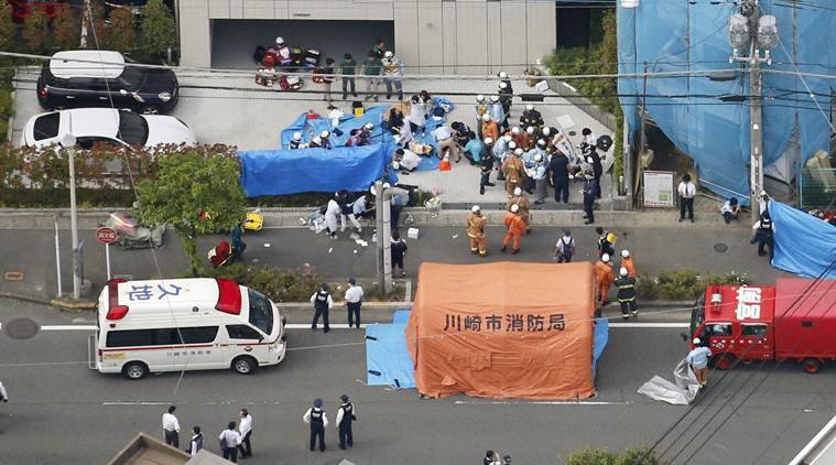 Japan bus stop stabbing wounds 19, kills up to 3