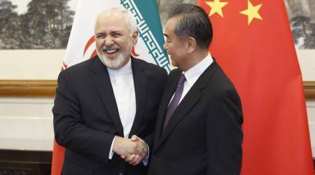 Mohammad javad zarif, iranian foreign minister, chinese foreign minister, iran china relation, world news, indian express