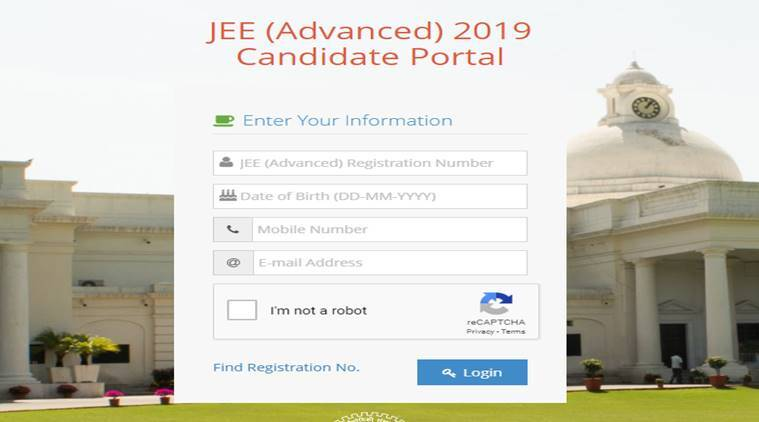 jee, jee advanced, jee advanced admit card, jee advanced hall ticket, jee advanced admit card download, JEE Advaced admit card 2019 link, jeeadv.ac.in, iit entrance, iit admission, college admission, jee advanced exam pattern, jee advanced mock test, jee advanced 2019 question paper, education news