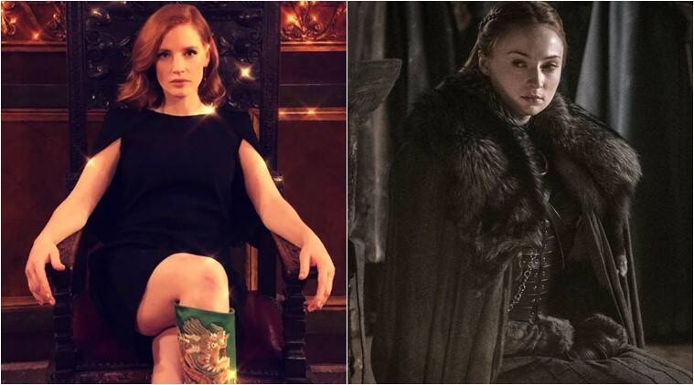 Jessica Chastain game of thrones