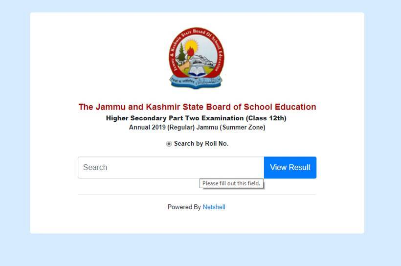 JKBOSE Class 12th result 2019 declared: How to check score