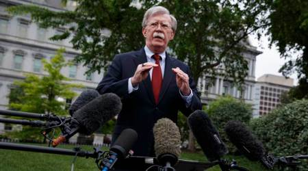 Bolton says way is open for Iran to enter talks with US