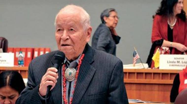 WWII Code Talker and longtime NM lawmaker John Pinto dies at 94