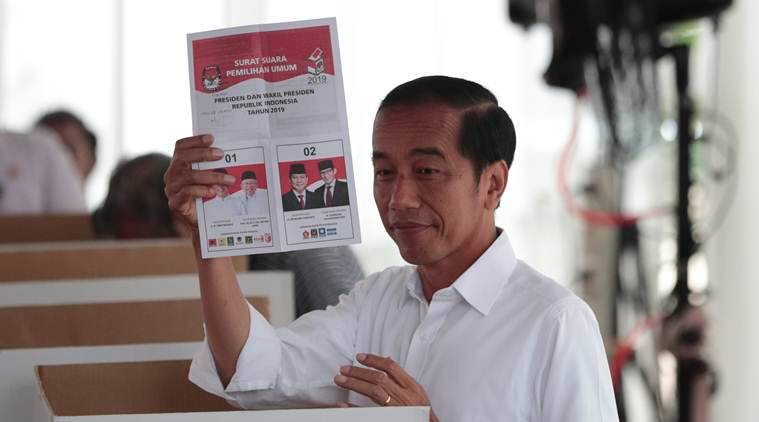 Joko Widodo reelected as President of Indonesia