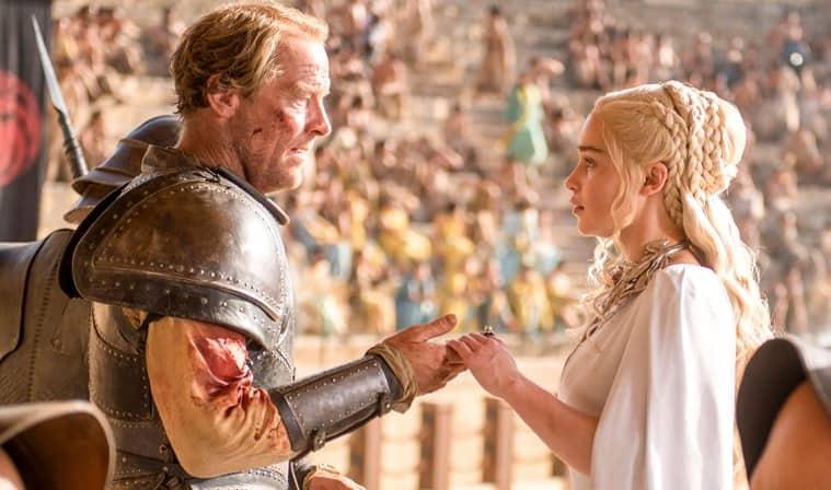 iain glen emilia clarke game of thrones