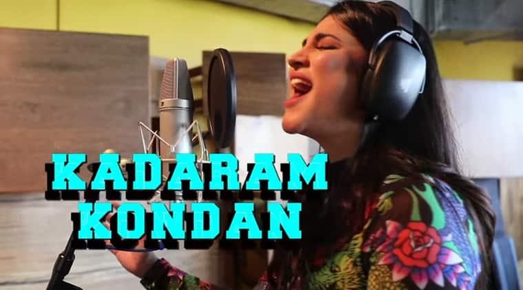 Shruti Haasan song Kadaram Kondan