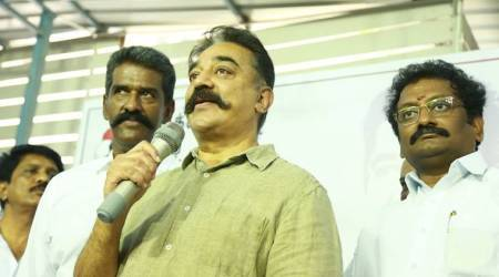 Kamal Haasan, Hindi Imposition, Makkal Needhi Maiam, Tamil Nadu politics, Amit Shah, One Nation One Language, Indian Express News, Chennai News, Tamil Nadu