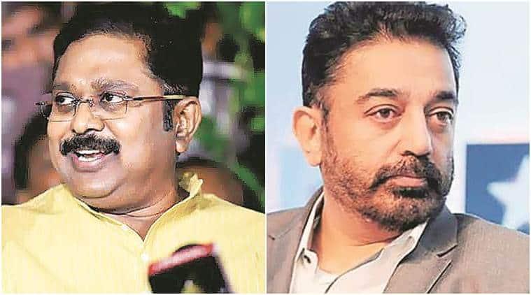 T T V Dhinakaran, Kamal Haasan