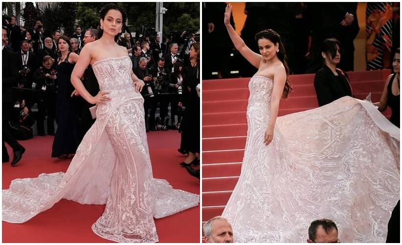 Kangana cannes red carpet