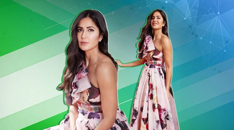 Bharat promotions: Katrina Kaif is a sight to behold in this Gauri & Nainika gown