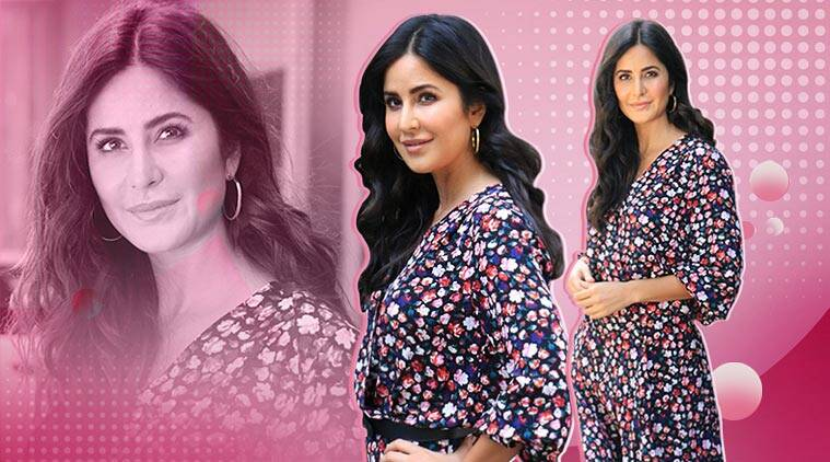 Katrina Kaif stepped out in the most boring floral dress during Bharat promotions