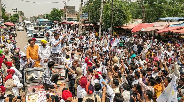 At Sangrur, Arvind Kejriwal's emotional appeal: Make your younger brother victorious