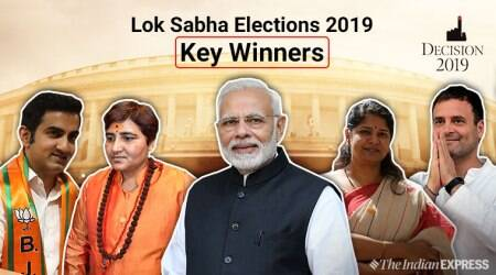 Lok Sabha Elections 2019, 2019 Lok Sabha Elections, BJP, BJP Lok sabha winners, bjp list of winners, Winner list elections, election winner list, winner list election, Lok Sabha election winner list, list of winners elections 2019, indian express, election news, indian express