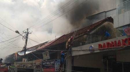 Major fire breaks out at Kochi's Broadway market, no casualties reported