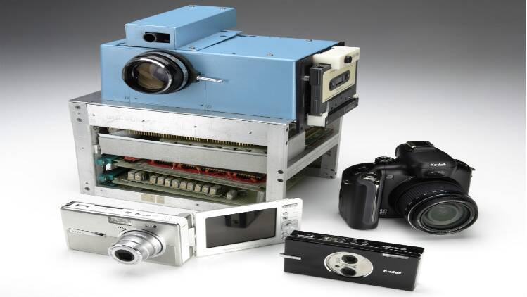 The First Digital Picture.Timeline The Evolution Of Digital Cameras From Kodak S