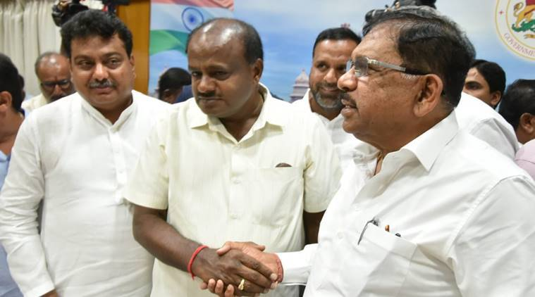 karnataka election results, karnataka lok sabha election results, kumaraswamy, lok sabha election results, bjp victory in karnataka, karnataka bjp, congress-jds in karnataka, karnataka news, indian express