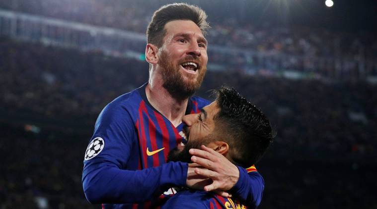 Lionel Messi, Barcelona, Barcelona Lionel Messi, Champions league 2019, 2019 champions league, Barcelona vs Liverpool, Messi, Lionel Mess Liverpool, football news, indian express, latest news
