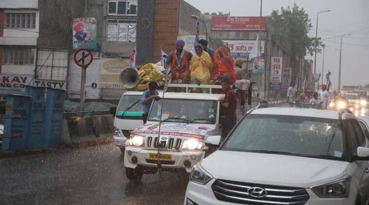 Weather forecast today HIGHLIGHTS: Rain hits election