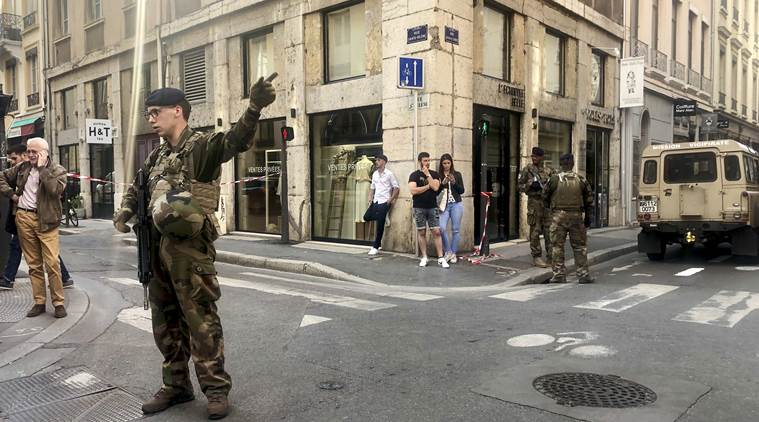 France: Small blast in Lyon wounds 7, cause unclear