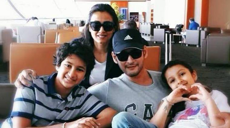 mahesh babu family vacation