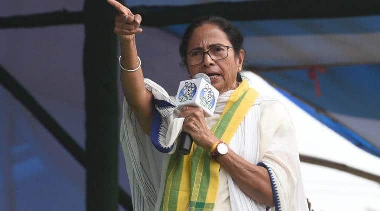 mamata banerjee, jai shri ram, jai shri ram slogan, mamata banerjee jai shri ram, mamata vs bjp, mamata banerjee vs bjp, mamata convoy stopped, indian express