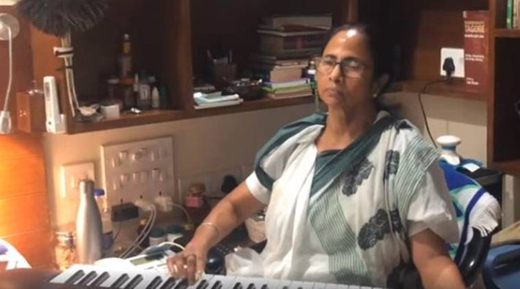 WATCH: On Piano, Mamata Banerjee strikes musical chord ahead of elections result