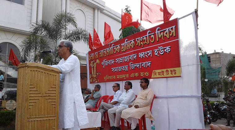 Left calls for workers' unity as May Day not observed in Tripura for first time in 40 years