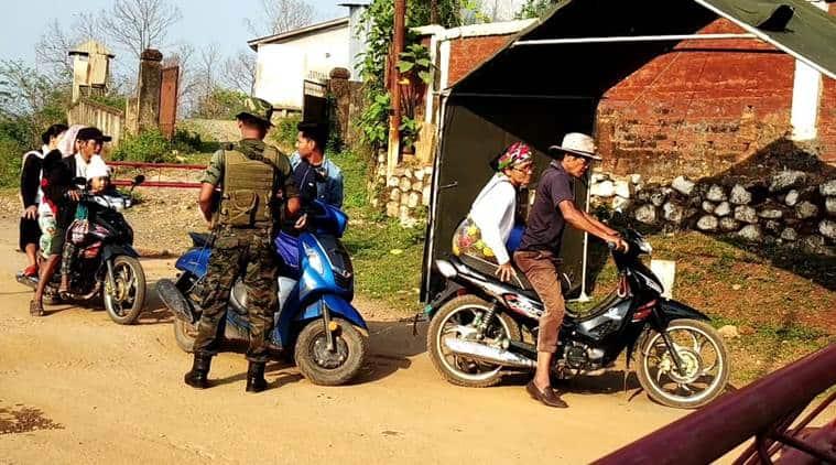 manipur, manipur myanmar border, indo myanmar border, assam rifles in manipur, indo myanmar border checking, indo myanmar border security, manipur news,