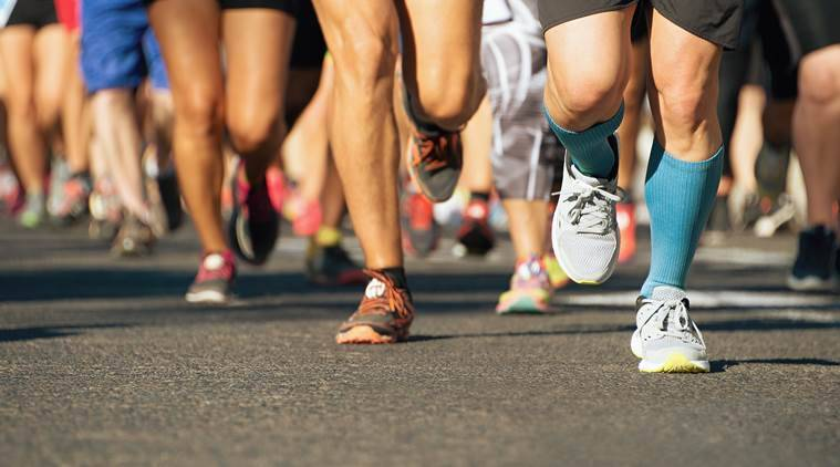 Marathon, marathon running, health, blood vessels, stroke, indian express, indian express news
