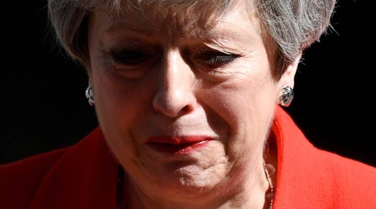 Theresa May to resign as British PM on June 7