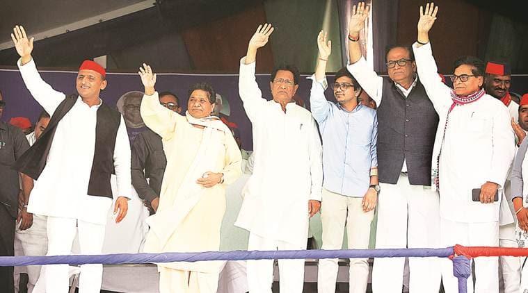 Akhilesh Yadav, Mayawati, sp bsp alliance, sp bsp rally, up gathbandhan, bjp congress, deoband rally, deoband, lok sabha elections, lok sabha elections 2019, lok sabha polls, up elections, lok sabha elections in up, up alliance, election news, indian express