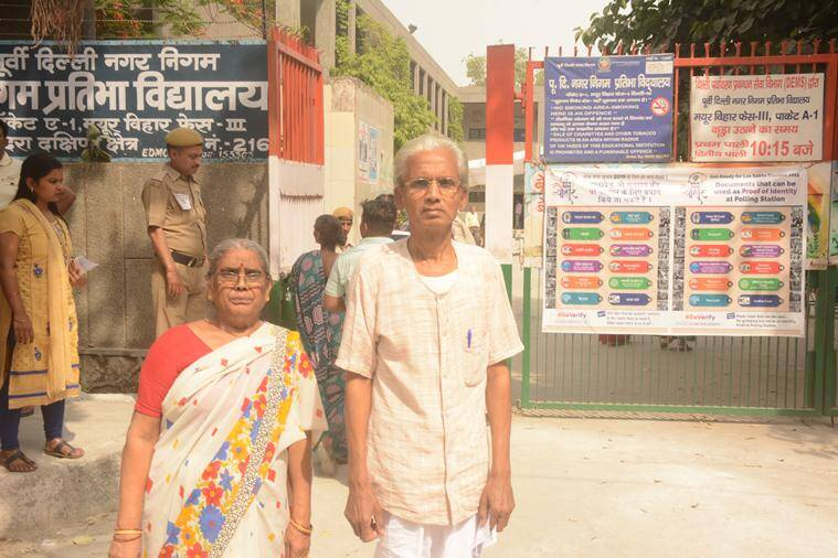 In East Delhi areas adjacent to Noida, why young voters are missing