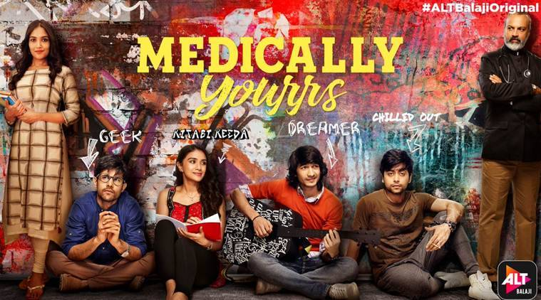 Medically Yourrs First Impression Shantanu Maheshwari Starrer Has Its Moments Entertainment News The Indian Express