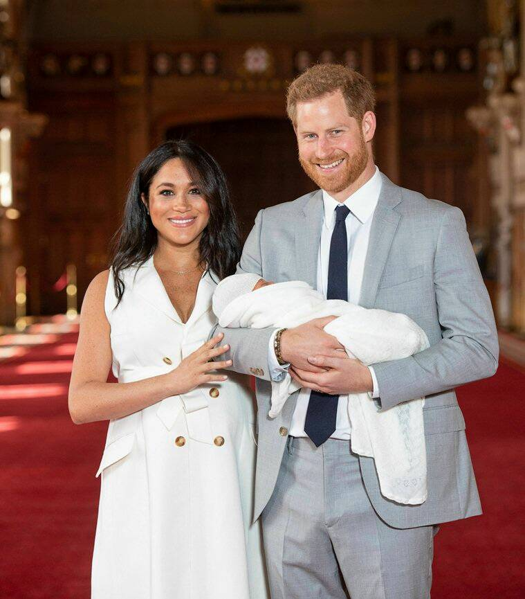 meghan markle prince harry royal baby archie