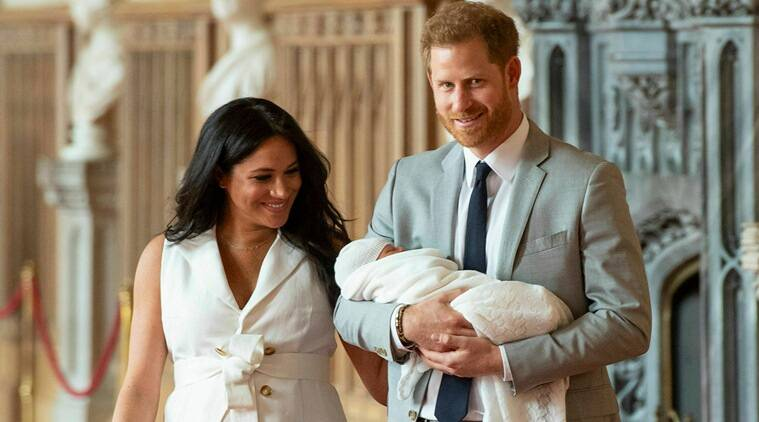 Royal baby first look: Meghan Markle, Prince Harry present royal newborn to public