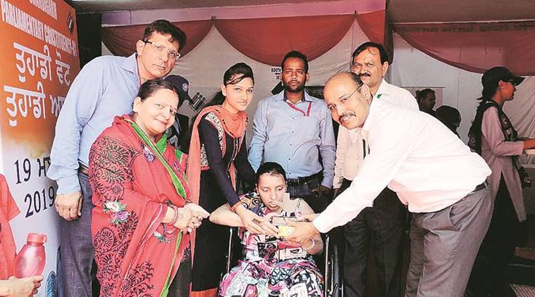 Chandigarh: Sweet boxes for first-time voters, mementos for elderly, disabled