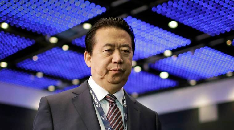 Interpol, China Interpol, Meng Hongwei, Meng Hongwei Interpol, China Interpol president bribe, Meng Hongwei bribery case, World news, Indian Express