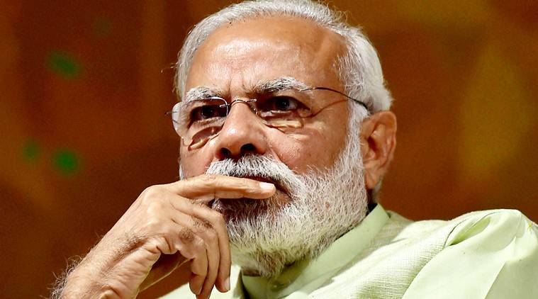 Modi, Modi Pragya Thakur, Pragya Thakur Godse, Nathuram Godse, Narendra Modi Pragya deshbakt remark, PM Modi on Pragya Thakur Godse remark, Pragya Thakur godse remark, Pragya on godse, Indian Express