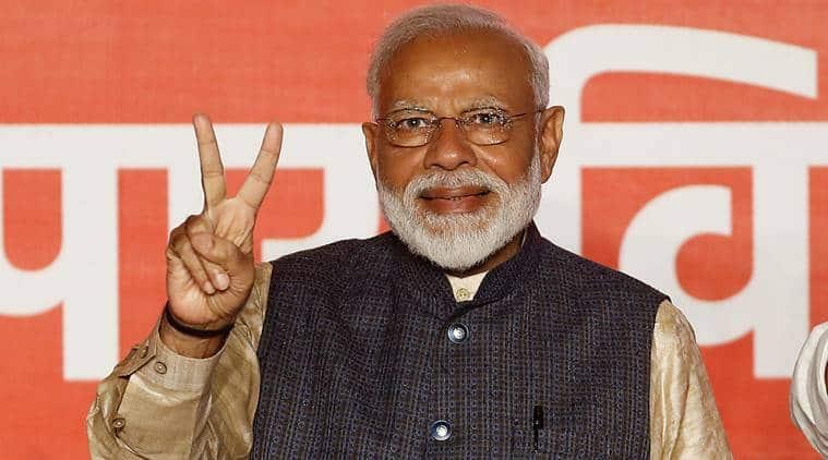 Narendra Modi, Modi swearing-in, Modi oath ceremony, west bengal violence, Narendra modi, swearing-in ceremony, lok sabha elections 2019, rashtrapati bhavan, bimstec, india news, indian express