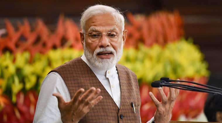 PM Modi swearing in, PM Modi, Rashtrapati Bhavan, Kamal Nath, Bhupesh Baghel, Ashok Gehlot, Amarinder Singh, indian express