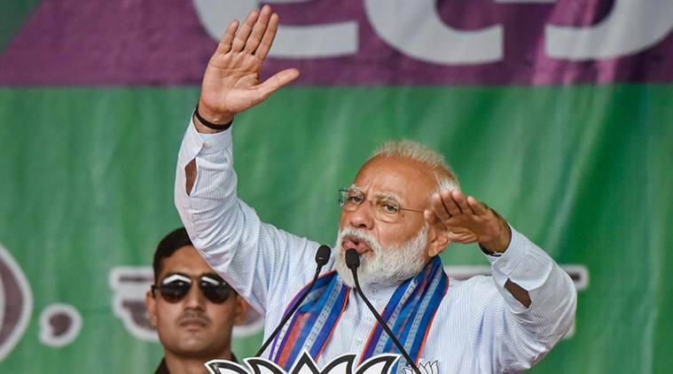 Media chasing Pragya Thakur should also talk about corruption against Congress and its allies: PM Modi
