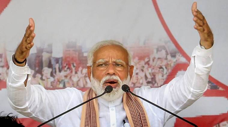 Rajasthan govt tried to supress Alwar gangrape news because of votebank politics: Modi